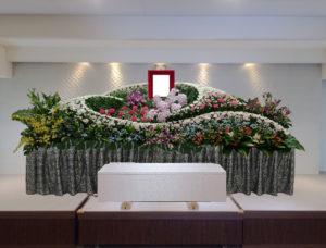 生野区葬儀 花祭壇