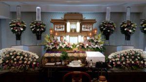生野 葬儀 祭壇