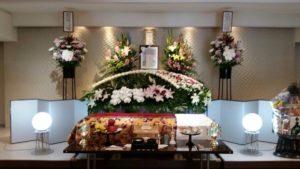生野 葬儀 祭壇3
