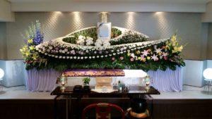 生野 葬儀 花祭壇4